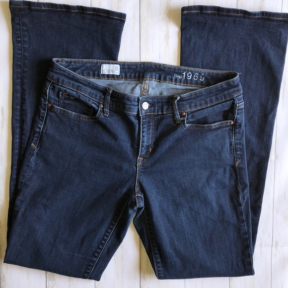 GAP Denim - GAP 1969 Jeans Sexy Boot Cut 31T 31 Tall EUC